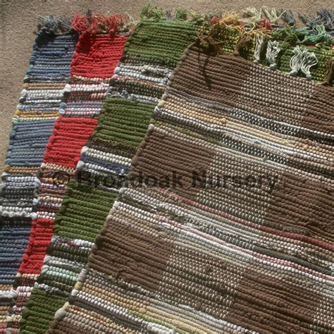 Indian Rag Rug by Fair Trade Indian Rag Rug Chindi Check Cotton Handmade