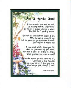 special aunt personalized print poem memory birthday mothers day gift happy mothers day