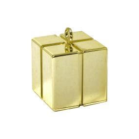 Gold Balloon Weight - Gift Box Empty Box Weight