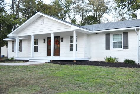 ranch house with porch adding a front porch to a brick ranch brick ranch front