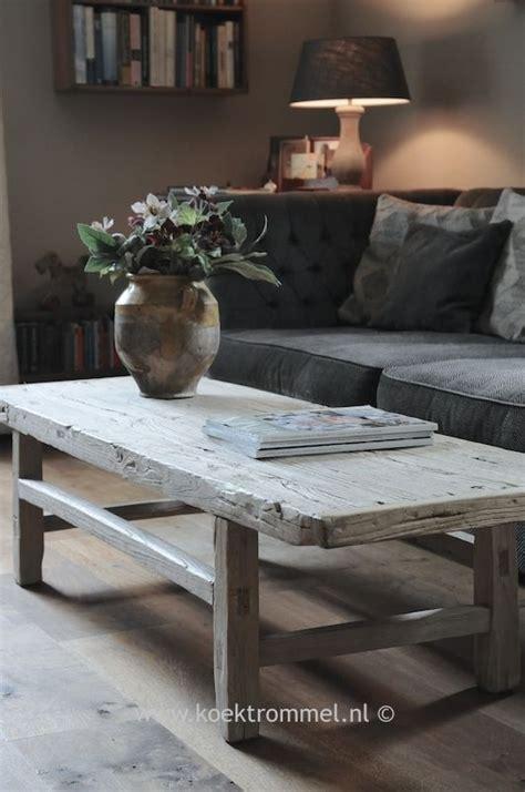 elmwood design instagram salontafel van vergrijsd olmhout elmwood landelijke