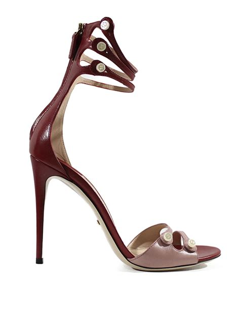 gucci high heel sandals high heel two tone leather sandals by gucci sandals ikrix