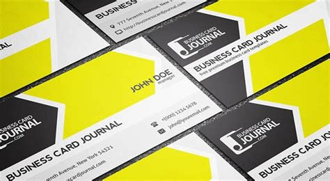 Free Flat Card Templates by 20 Free Flat Business Card Template