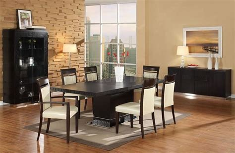Contemporary Dining Room Furniture Sets Interesting Concept Of Contemporary Dining Room Sets Trellischicago