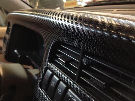 wrapping interni car wrapping interni cruscotto isuzu trooper carbon black