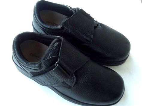orthofeet slip on velcro shoes s size 9 1 2 6e wide ebay