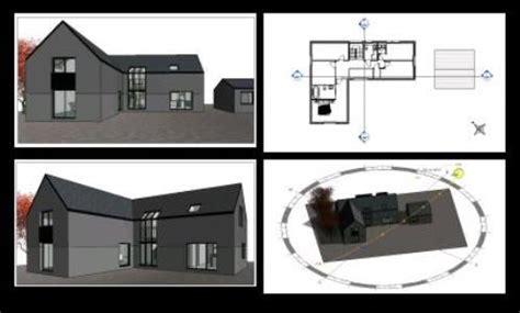 revit house plans house plan 3d rvt full project for revit designscad