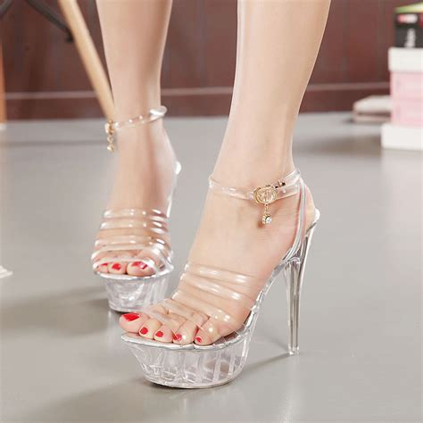 high heeled wedges 2015 ruslana korshunova ultra high heels sandals