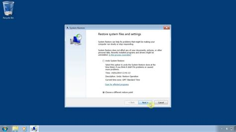 resetting windows vista to earlier date system restore windows 7 restore your computer to an