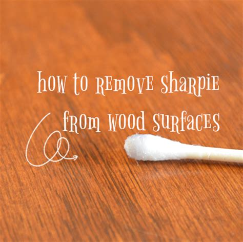 How To Get Sharpie Wood Table by How To Remove Sharpie From Wood Surfaces