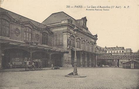 gare d austerlitz wikidata paris gare d austerlitz paris xiiie arr cartes postales anciennes sur cparama