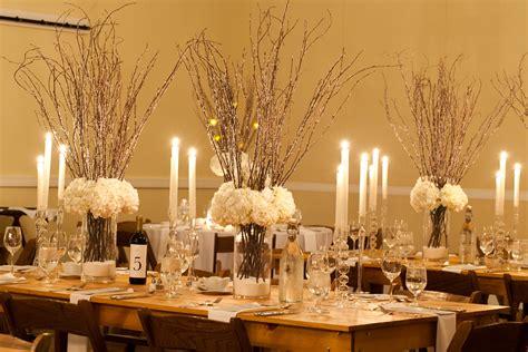 Elegant Christmas Centerpiece Ideas - real wedding winter wonderland colleen miller events
