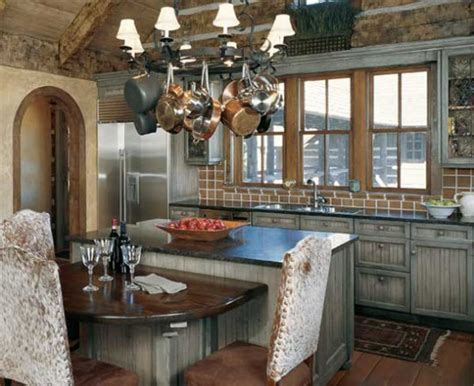 timber home kitchen island design ideas