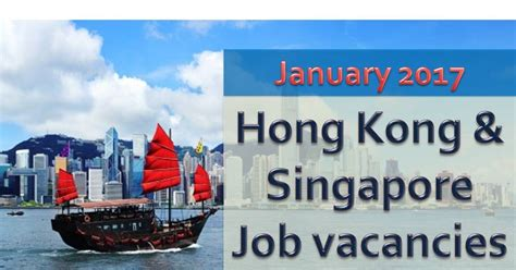 Online Jobs Work From Home Singapore - singapore hong kong job vacancies for january 2017