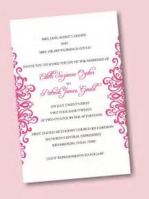 create your own wedding invitation suite 04