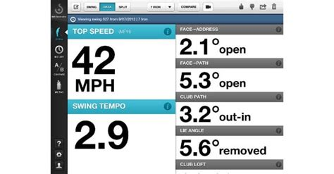 swing profile app reviews swing analyzer app amazing golf training aid app swing
