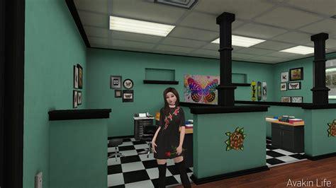 tattoo shop furniture avakin l a studio tour