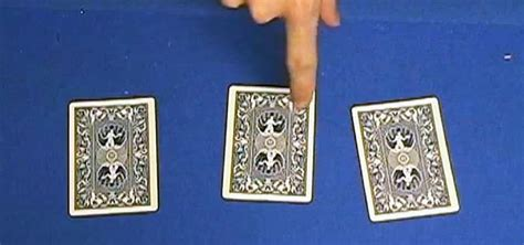 3 Card Monte how to perform the ultimate three card monte card trick 171 card tricks wonderhowto