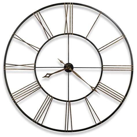 huge wall clocks howard miller postema 625 406 large wall clock the clock