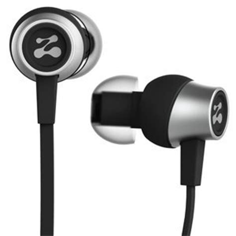 zipbuds slide sport earbuds with mic (most durable, tangle