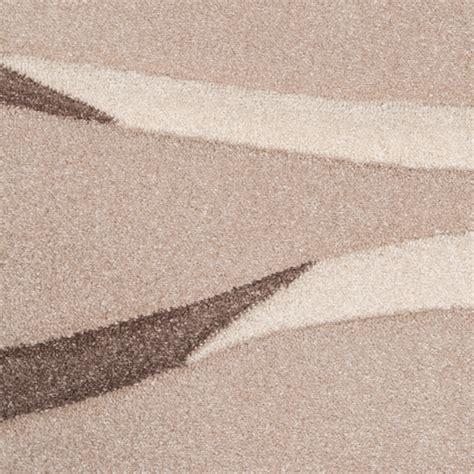 teppich 80x250 rug modern living room pile waves design beige