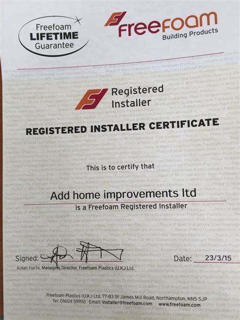 add home improvements ltd 100 feedback fascias soffits