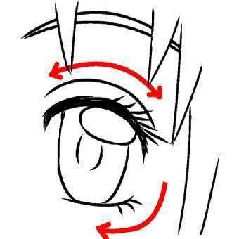 imagenes ojos para dibujar aprendera dibujar ojos anime y manga 8 aprender a