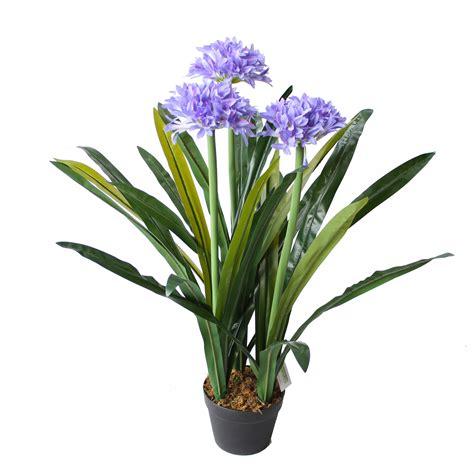 agapanthus plant 90cm artificial plants online