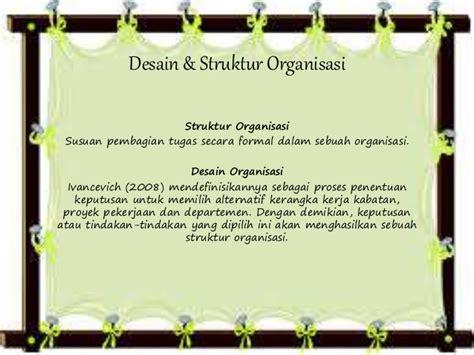 soal desain dan struktur organisasi desain organisasi rumah zee