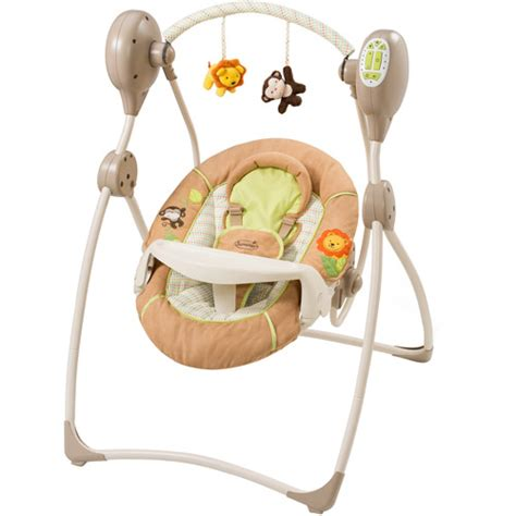 baby swing sleep summer infant sweet sleep musical swing swingin safari