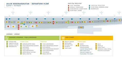 Layout Terminal 3 Bandara Soekarno Hatta | peta terminal 3 bandara soekarno hatta notordinaryblogger