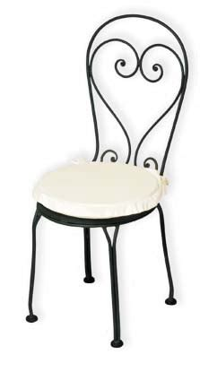 sedie in ferro battuto da giardino prezzi sedie in ferro battuto arredo giardino