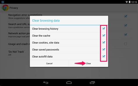 clear data android how to fix quot your connection is not quot error on android