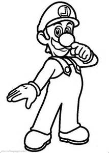 luigi coloring pages print mario and luigi coloring pages coloring home