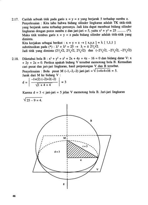 layout garis dan u bidang lengkung dan garis lengkung di dalam ruang