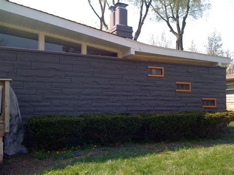 Painting Mid Century Modern Home Exterior Paint Colors