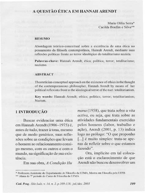 A Questão Ética em Hannah Arendt.pdf
