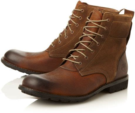 timberland casual boots timberland casual boots in brown for lyst