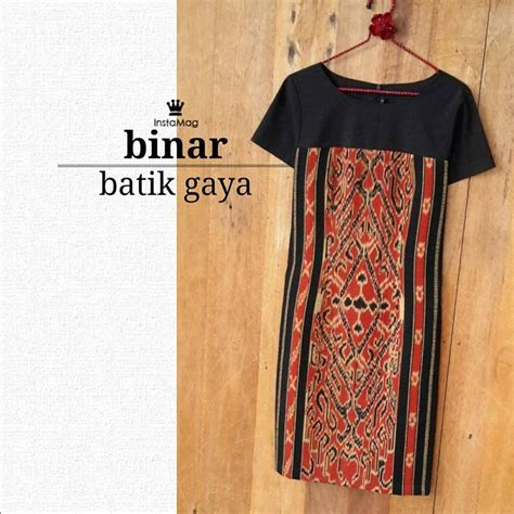 Dress Batik Ikat Sabrina batik tenun ikat のおすすめ画像 524 件 バティック