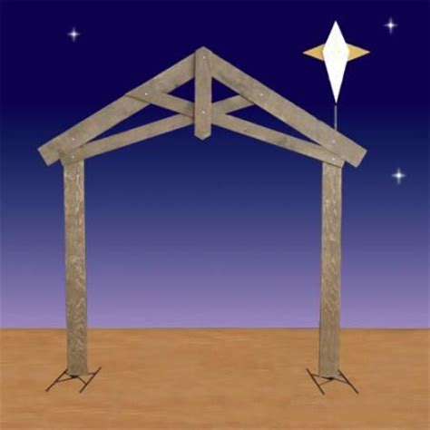 25 best ideas about nativity stable on pinterest