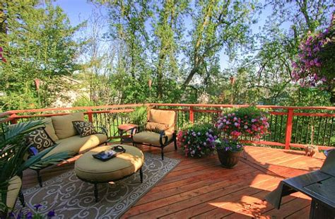 patio furniture lay outs how to update your deck for summer
