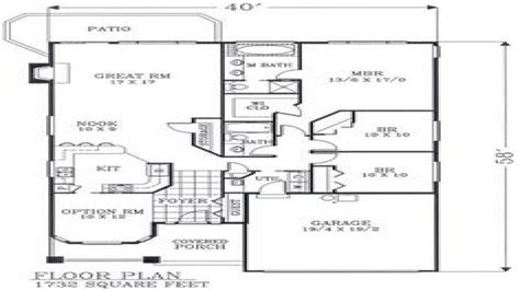 craftsman open floor plans craftsman open floor plans craftsman bungalow floor plans