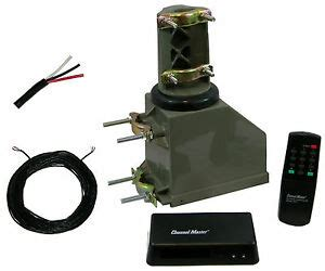 channel master 9521 9521a remote antenna rotator tv with 50 rotor wire ebay