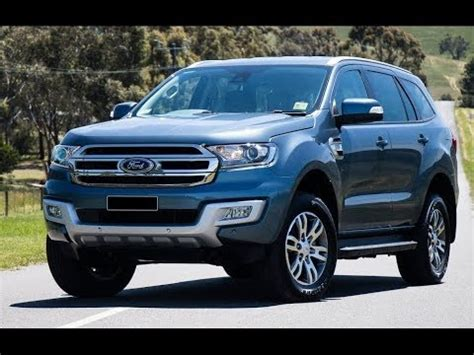 ford endeavour 2018 2018 ford endeavour everest facelift review