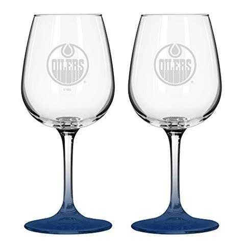 Wine Glasses Edmonton Edmonton Oilers Wine Glass Price Compare