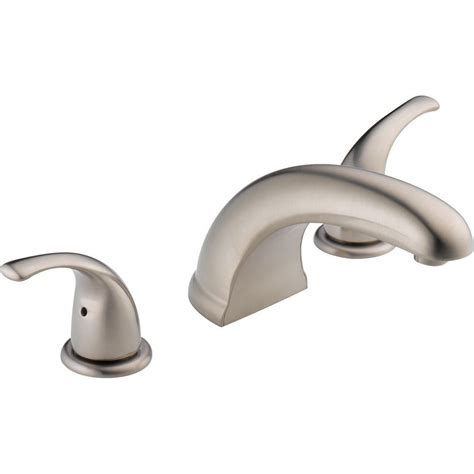 peerless bathtub peerless 2 handle deck mount roman tub faucet trim kit in