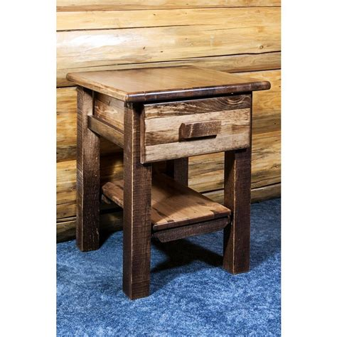 montana woodworks montana woodworks homestead collection 1 drawer stain and
