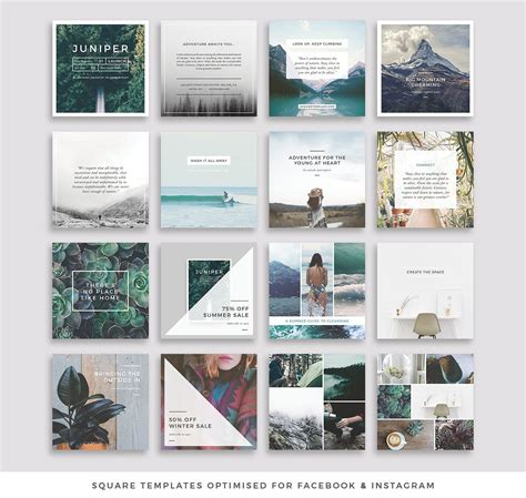 Instagram Templates For Posts Stories Story Highlights Social Media Design Templates