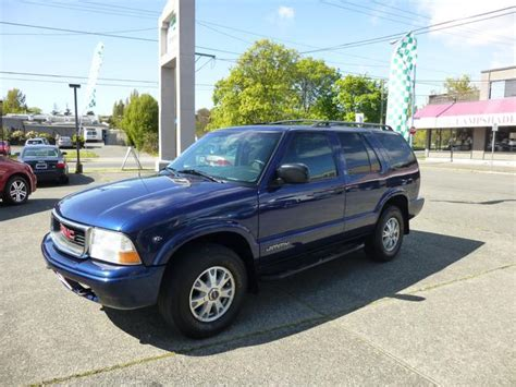 2002 gmc jimmy 2002 gmc jimmy outside comox valley comox valley