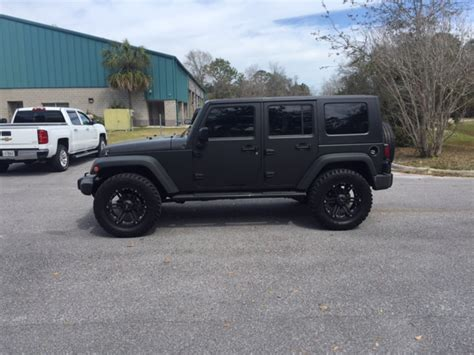 jeeps matte black 2007 jeep wrangler matte black sold